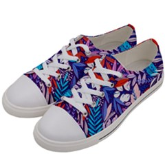 Exotic Women s Low Top Canvas Sneakers by Sobalvarro