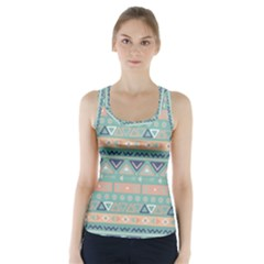 Tribal Racer Back Sports Top by Sobalvarro