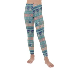 Tribal Kids  Lightweight Velour Leggings by Wmcs91