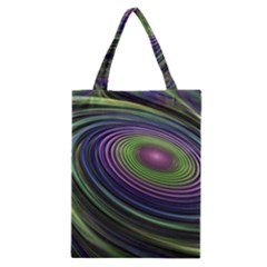 Fractal Pastel Fantasy Colorful Classic Tote Bag by Pakrebo
