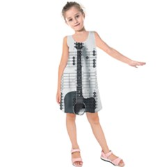Guitar Chords Guitar Chords Chord Kids  Sleeveless Dress