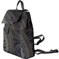 Fractal Spikes Gears Abstract Buckle Everyday Backpack