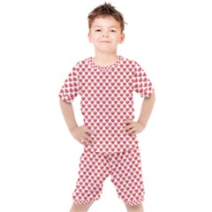 Brilliant Patern Abstract Kids  Tee And Shorts Set