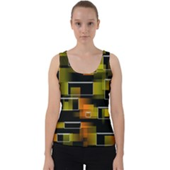 Pattern Wallpaper Background Velvet Tank Top