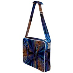 Abstract Background Kaleidoscope Cross Body Office Bag by Pakrebo