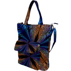 Abstract Background Kaleidoscope Shoulder Tote Bag by Pakrebo