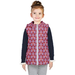 Pattern New Seamless Kids  Hooded Puffer Vest