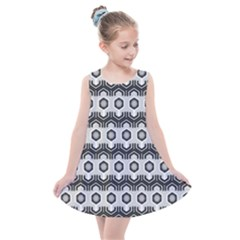 Pattern Abstractstyle Seamless Kids  Summer Dress