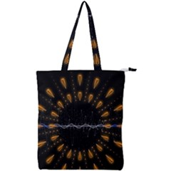 Background Pattern Bright Graphic Double Zip Up Tote Bag by Pakrebo