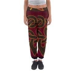 Celtic Spiritual Pattern Art Women s Jogger Sweatpants