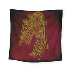 Celtic Spiritual Pattern Art Square Tapestry (small) by Pakrebo