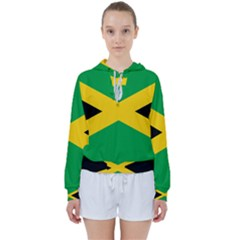 Jamaica Flag Women s Tie Up Sweat by FlagGallery