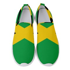 Jamaica Flag Women s Slip On Sneakers by FlagGallery