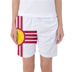 New Mexico Flag Women s Basketball Shorts by FlagGallery