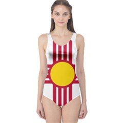 New Mexico Flag One Piece Swimsuit by FlagGallery
