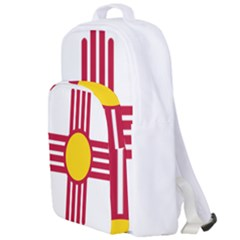 New Mexico Flag Double Compartment Backpack by FlagGallery