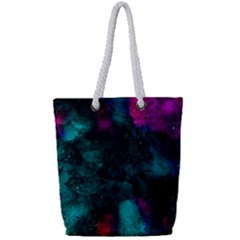 Don t Complicate Your Mind Full Print Rope Handle Tote (small) by WensdaiAmbrose