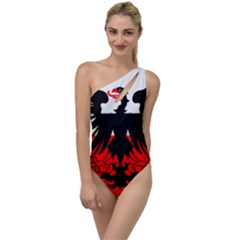 Flag Of Deventer  To One Side Swimsuit by abbeyz71