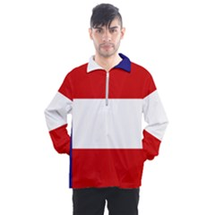 Flag Of Georgia, 1879 1902 Men s Half Zip Pullover by abbeyz71