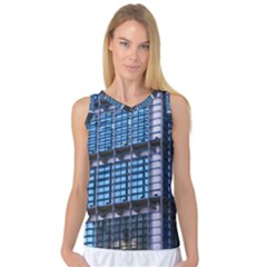 Abstract Architecture Background Women s Basketball Tank Top by Pakrebo