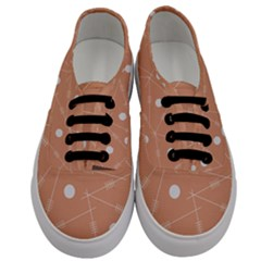 Background Non Seamless Pattern Abstract Men s Classic Low Top Sneakers