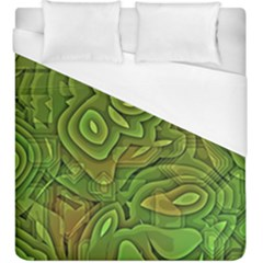 Background Abstract Green Seamless Duvet Cover (king Size) by Pakrebo