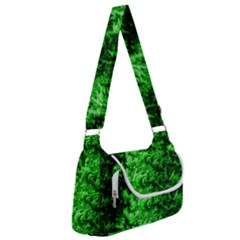 Green Abstract Fractal Background Multipack Bag by Pakrebo