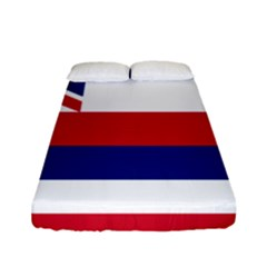 Flag Of Hawaii Fitted Sheet (full/ Double Size) by abbeyz71