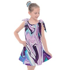 Color Acrylic Paint Art Painting Kids  Tie Up Tunic Dress