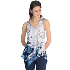Paint Acrylic Paint Art Colorful Sleeveless Tunic