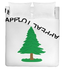 Appeal To Heaven Flag Duvet Cover Double Side (queen Size) by abbeyz71