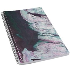 Color Acrylic Paint Art Painting 5 5  X 8 5  Notebook by Pakrebo
