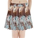 Paint Acrylic Paint Art Colorful Pleated Mini Skirt View1