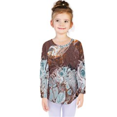 Paint Acrylic Paint Art Colorful Kids  Long Sleeve Tee