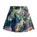 Paint Acrylic Paint Art Colorful Mini Flare Skirt View1