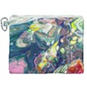 Paint Acrylic Paint Art Colorful Canvas Cosmetic Bag (XXL) View1