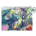 Paint Acrylic Paint Art Colorful Canvas Cosmetic Bag (XXL) View2
