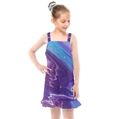 Color Acrylic Paint Art Painting Art Kids  Overall Dress by Pakrebo