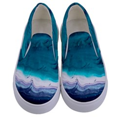 Color Acrylic Paint Art Painting Kids  Canvas Slip Ons