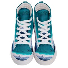 Color Acrylic Paint Art Painting Women s Hi Top Skate Sneakers