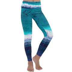 Color Acrylic Paint Art Painting Kids  Lightweight Velour Classic Yoga Leggings by Pakrebo