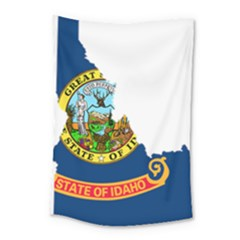 Flag Map Of Idaho Small Tapestry by abbeyz71