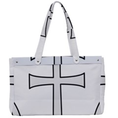 Anchored Cross Canvas Work Bag by abbeyz71