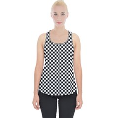 Background Black Board Checker Piece Up Tank Top