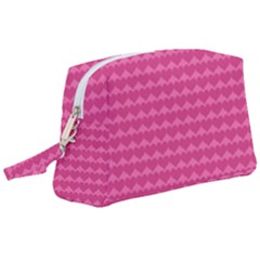 Abstract Background Card Decoration Pink Wristlet Pouch Bag (large)