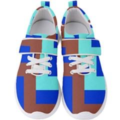 Abstract Background Abstraction Men s Velcro Strap Shoes