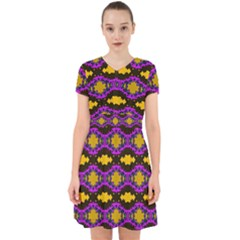 Seamless Wallpaper Digital Pattern Yellow Brown Purple Adorable In Chiffon Dress