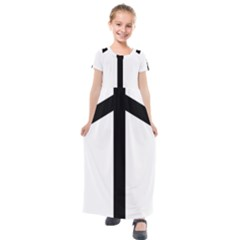Grapevine Cross Kids  Short Sleeve Maxi Dress by abbeyz71