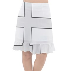 Cross Of St Philip Fishtail Chiffon Skirt