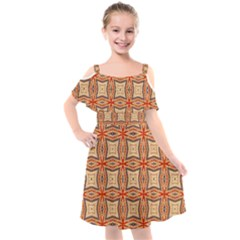 Rp 3 2 Kids  Cut Out Shoulders Chiffon Dress